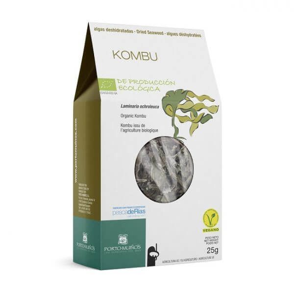 Alga kombu laminaria de Porto Muiños. Con certificación ecológica.
