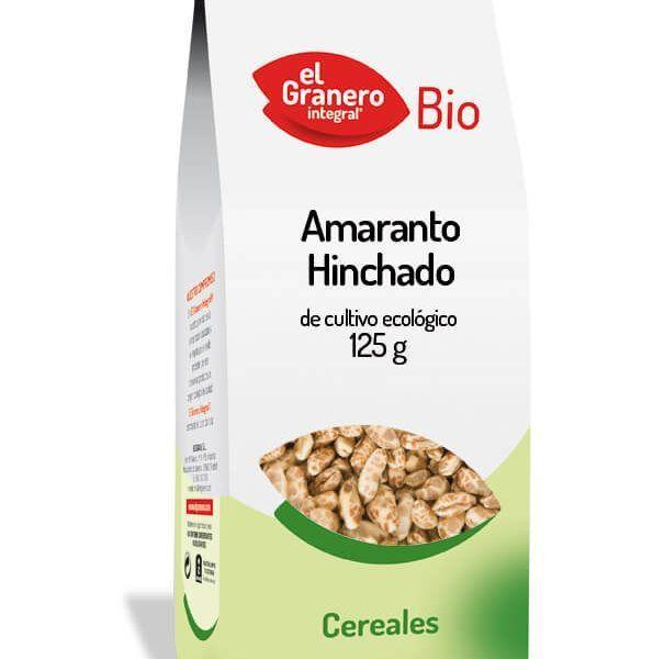 Amaranto hinchado de cultivo ecológico El Granero Integral. 125 gramos.