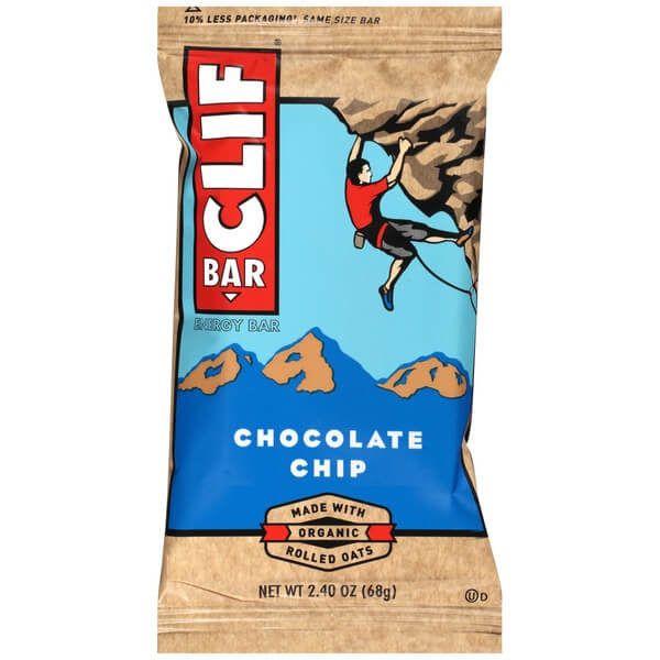 Barrita energética de avena ecológica y pepitas de chocolate. Enriquecida con 11 vitaminas, sin grasas hidrogenadas.