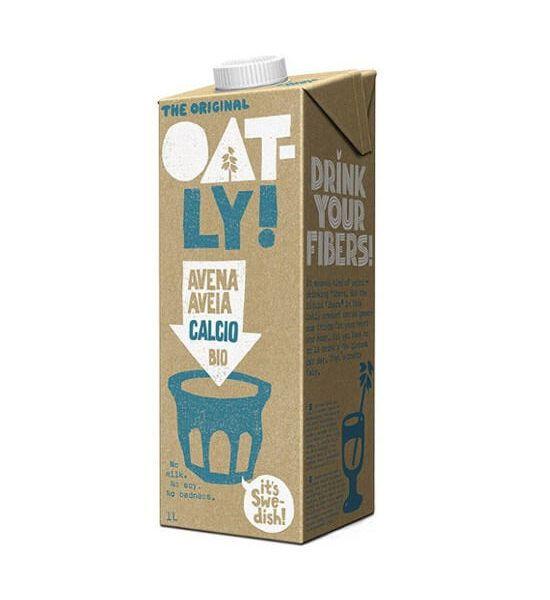 Bebida de avena con calcio ecológica 1 litro. De Oatly.