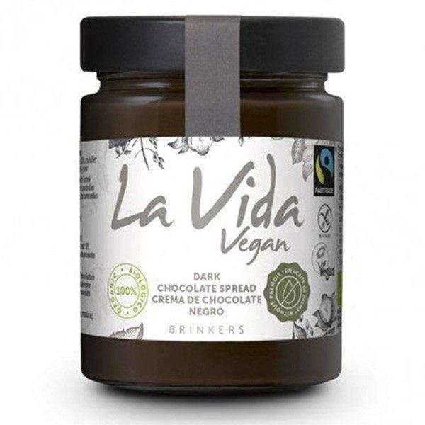 Crema vegana chocolate negro La Vida Vegan 270 g