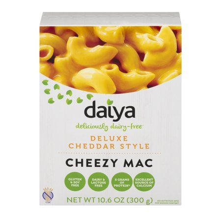 Macarrones Daiya con queso cheddar vegano 300 gramos.