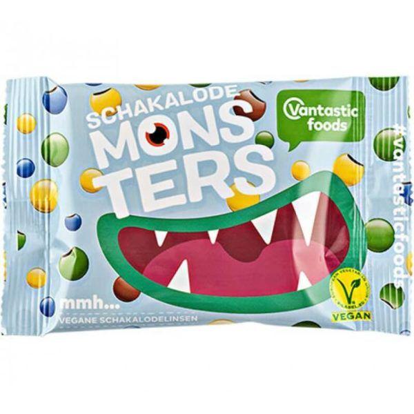 Lacasitos veganos, monsters de chocolate vegano