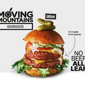 Hamburguesa Moving Mountains 2 unidades