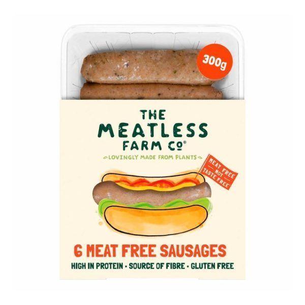 Salchichas Meatless Farm 6 unidades 300 gramos