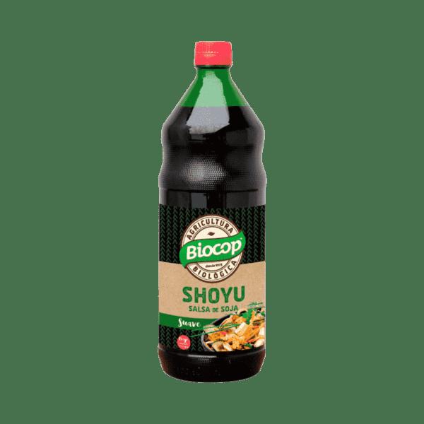 Salsa de soja Shoyu Biocop 500 ml