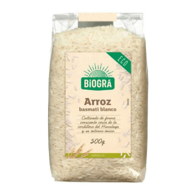arroz basmati bio blanco