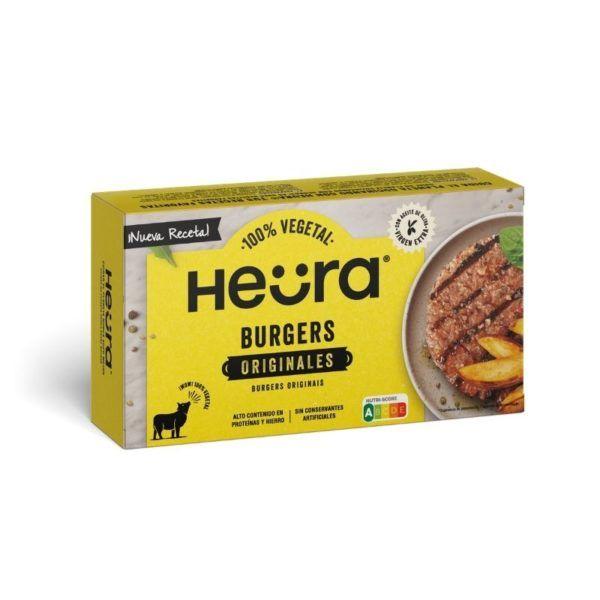 hamburguesa vegana de heura