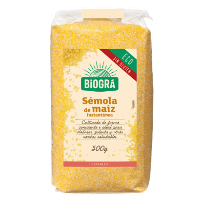 Sémola de maíz para polenta