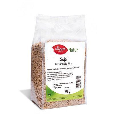 soja texturizada de grano fino