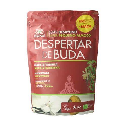 Despertar de Buda maca y vainilla. Es bio y es de Iswari. Una delicia nutricional y super sana. 360 gramos.