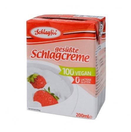 Nata vegana para cocinar y montar Schlagfix 200 ml