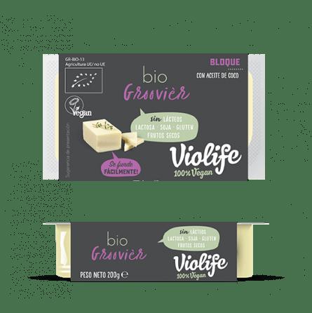 Queso vegano para fundir Violife groovier 200 gramos