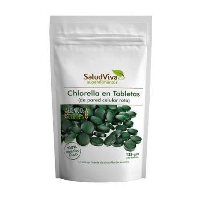 alga clorella orgánica en tabletas Salud Viva