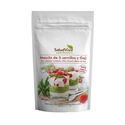 Mezcla de 6 semillas nutritivas salud viva