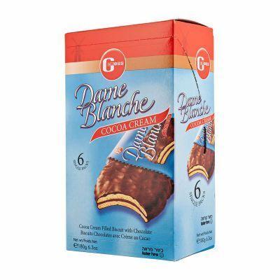 Galletas veganas chocolate y crema Dame Blanche