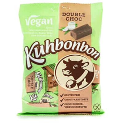 caramelos veganos estilo werthers con chocolate