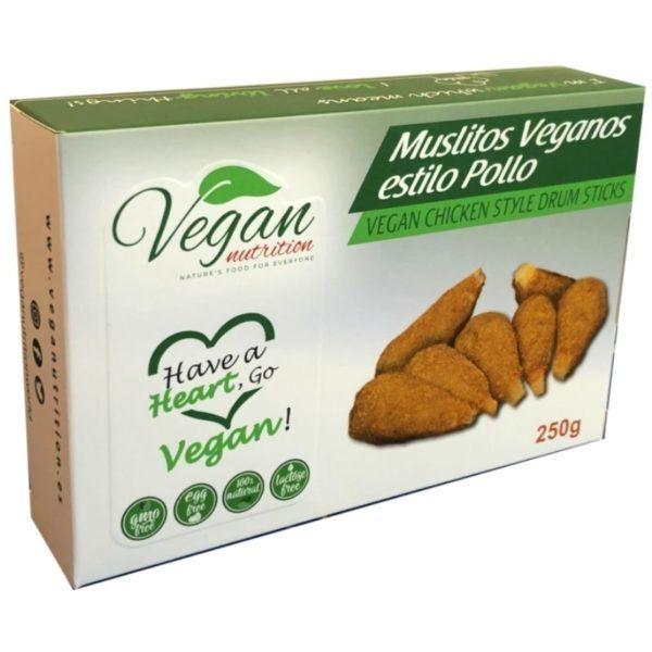 muslitos de pollo vegano