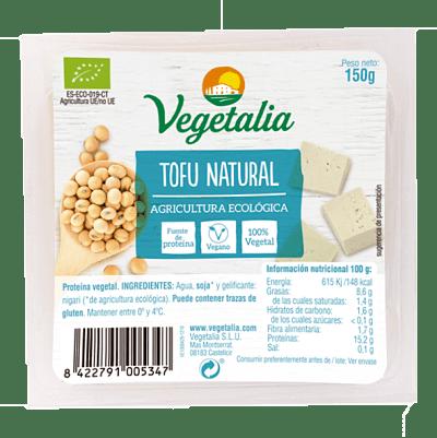 Tofu natural vegetalia 250 gramos
