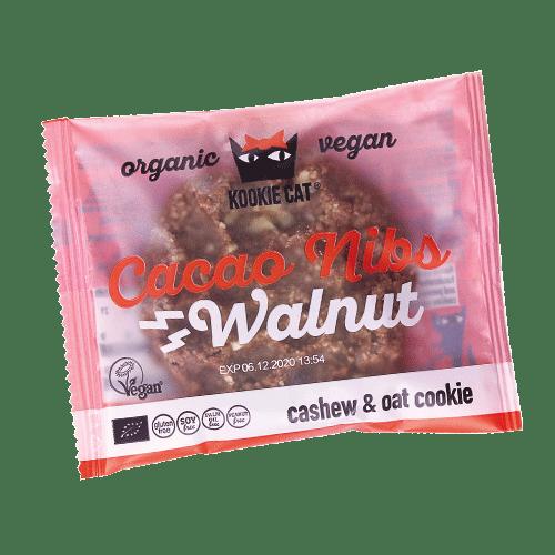 Kookie Cat cacao y nuez 50 g