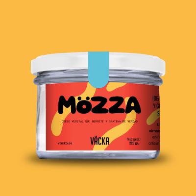 Vacka Mozza, queso de almendras