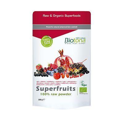 Polvo de frutas antioxidantes de Biotona
