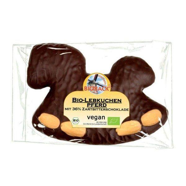Chocolate vegano con forma de caballo