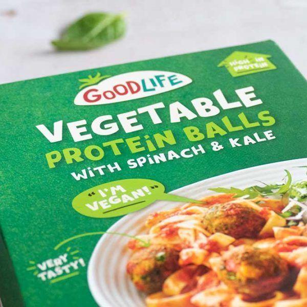Albóndigas veganas Goodlife