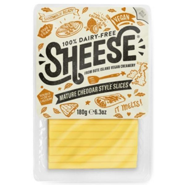 Sheese lonchas cheddar mature