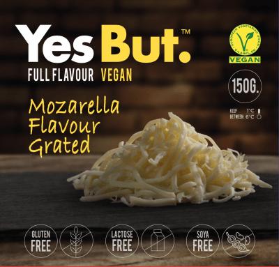 Yes But queso rallado vegano mozzarella