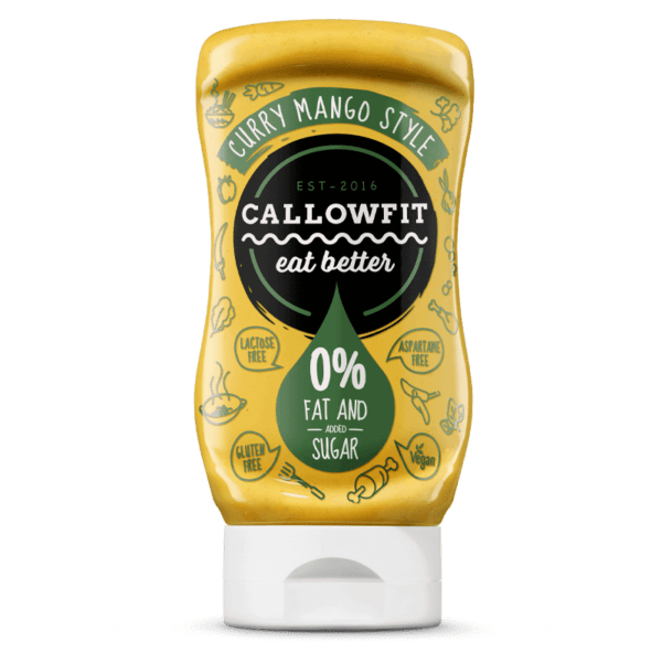 salsa vegana de curry y mango Callowfit