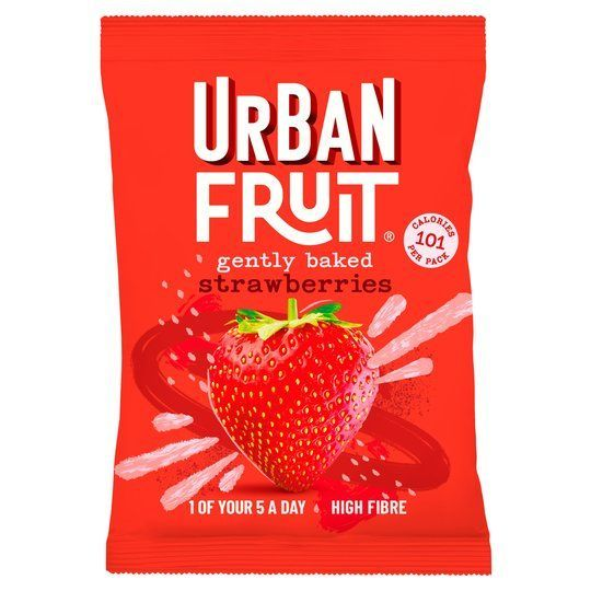 Fruta deshidratada Urban Fruit fresa
