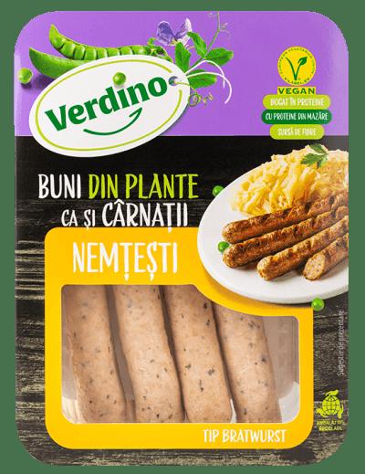 bratwurst vegetal verdino