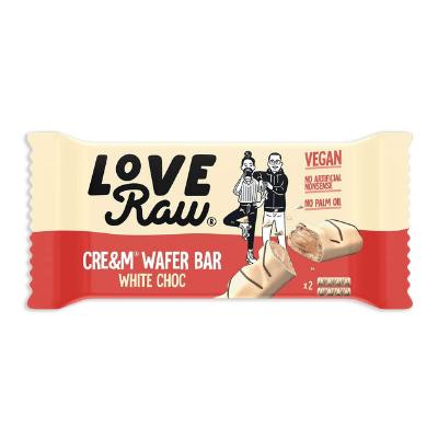 love raw chocolate blanco