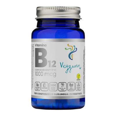 Vitamina B12 vegunn sublingual en comprimidos