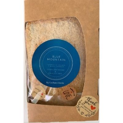 cachopo vegano blue mountain con queso cabrales vegano