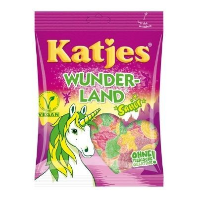 chuches ácidas veganas wunderland Katjes