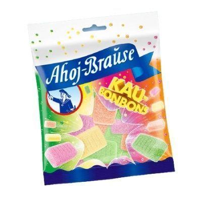 Caramelos veganos masticables con pica pica ácido