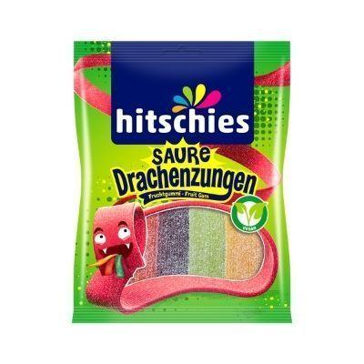 Tiras ácidas de sabores veganos Hitschies