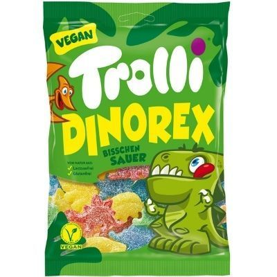 Dinorex trolli, chuches ligeramente ácidas veganas
